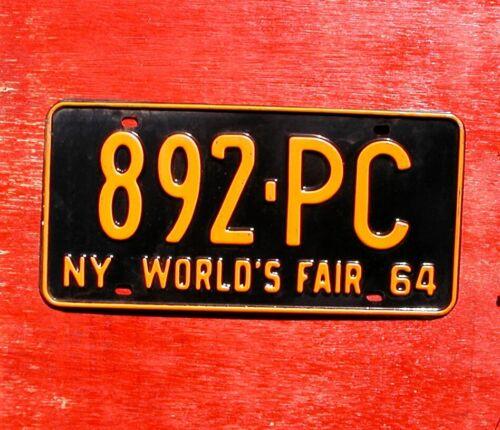 1964 New York Nice Original  WORLD