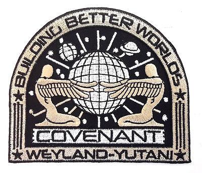 Alien Covenant Weyland Yutani Bbw Movie Deluxe Uniform Patch  Tan  Alpa 69