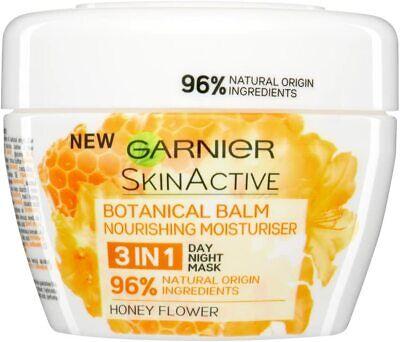 Garnier Skin Active 3in1 Nourishing Botanical Honey Balm Face Mask 140ml