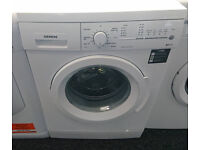 H155 white siemens 8kg 1200spin washing machine comes with warranty can be delivered or collected
