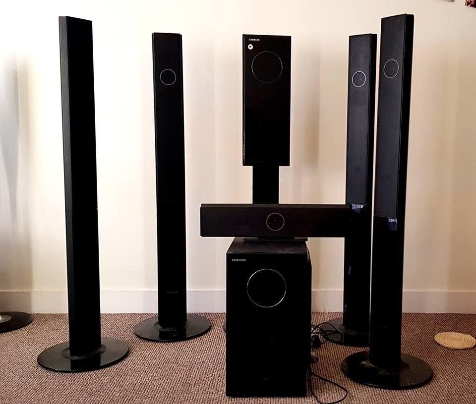 Samsung Home Theatre 5 1 Ht Txq120 Mint Condition Speaker System