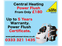 Power Flushing From £180 Up to 5 Years Warranty Power Flush Certificate Plumbing Gas Safe Register
