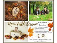 Mini Session Photography Autumn Theme