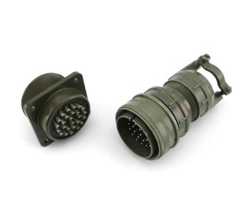 BENDIX MS3106E28-12P and MS3102E28-12S Circular Connector Pin Set
