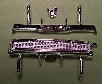 1968 Dodge Charger RT chrome grill grille front rear bumper gas cap model part ()