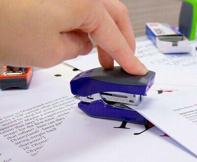 Mini Cushion Grip Standard 266 Stapler With 500 Ct Staples Organize W Staplers