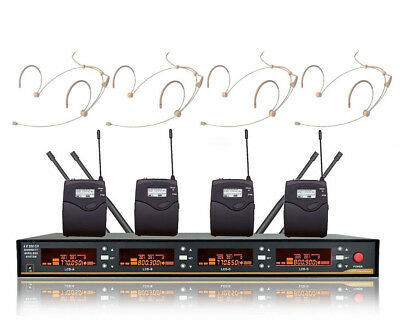 UHF Wireless Headset mic Microphone for Sennheiser Cordless