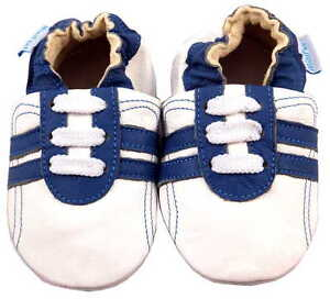 NEW SOFT LEATHER BABY BOY & GIRL SHOES 0-6, 6