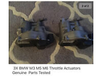 BMW throttle actuators