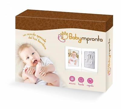 BABYMPRONTA RAHMEN FOTOS ABDRUCK HAND FUß IN 3D GESCHENKIDEE GEBURT (Neugeborenen Foto Ideen)