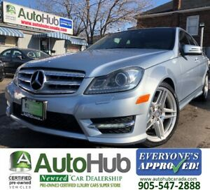 2013 Mercedes-Benz C-Class C350-4MATIC-NAV-BACKUP CAMERA-PANORAM