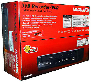 Magnavox-ZV427MG9-DVD-Recorder-and-VCR-Player-With-HDMI-1080p-DVD-VHS-ComboZV427