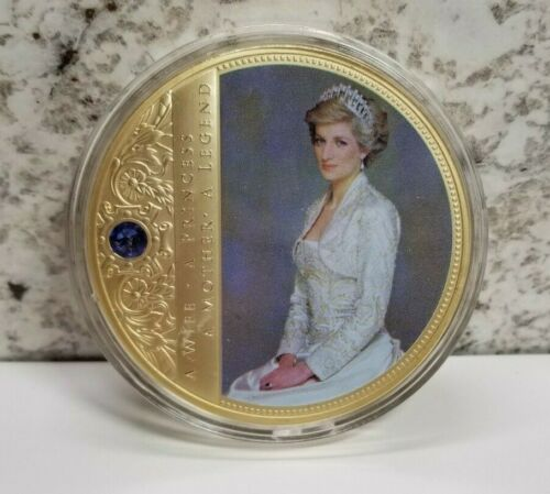 Colossal Princess Diana American Mint Commemorative Gold Medallion 110 grams