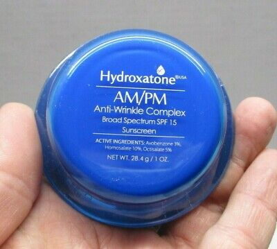 Hydroxatone Am Pm Anti Wrinkle Complex Cream Sealed Container EXPIRED 08-17