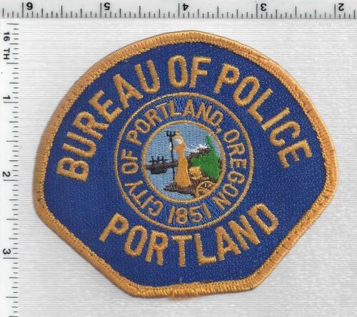 Portland Bureau of Police (Oregon) 6th Issue Uniform Take Off Shoulder Patch