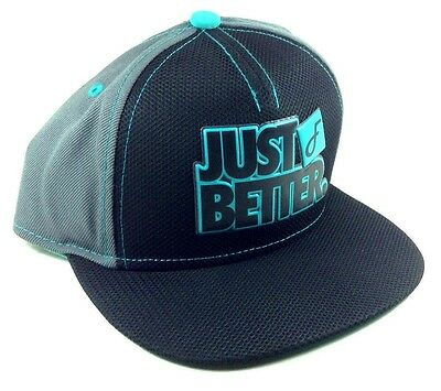FLAT FITTY LUXURY JUST BETTER DO IT BLACK GREY MESH SNAPBACK HAT CAP FLAT