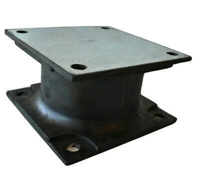 4 Stanley Bobcat Hydraulic Vibratory Compactor Rubber Isolator Shock Mount