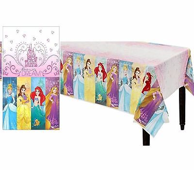 Disney Princesses Plastic Table Cover Birthday Party Decoration Supplies - Disney Princess Table Cover