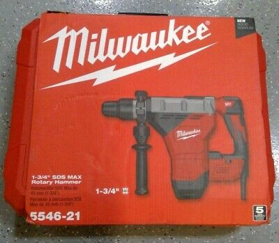 Milwaukee 5546-21 1-34 Sds Max Rotary Hammer