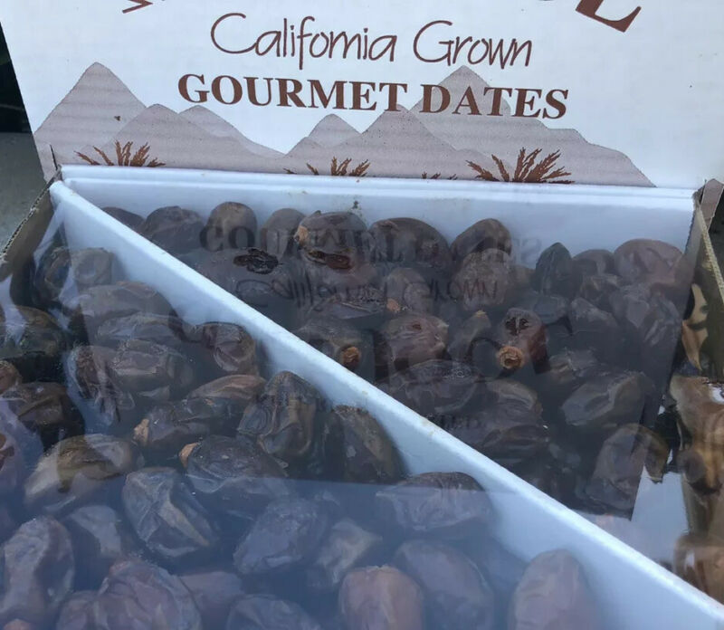 5LB-CALIFORNIA FRESH MINI COFFEE DATES.  MID-JUICY AND SWEET. HEALTHY SNACKS!