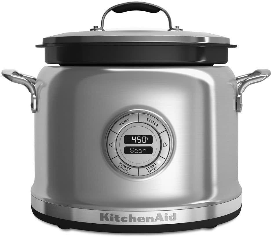 New KitchenAid 4 Qt Multicooker 10 cooking settings Digital