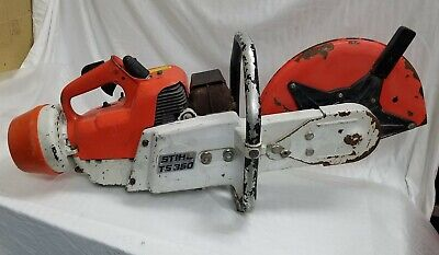 Salvage Stihl Ts350 Super Concrete Saw For Parts Or Repair