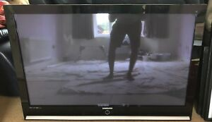 Samsung Black 50 Inch HD Ready Plasma TV PS50Q7HDX in excellent condition