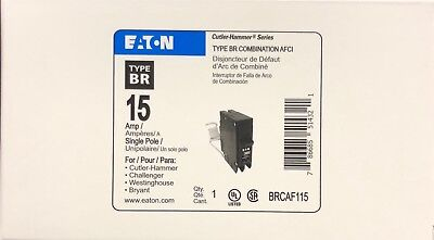 Cutler Hammer Eaton Brcaf115 Arc Fault Afci Circuit Breaker New In Box
