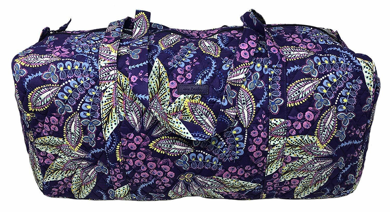 batik leaves large traveler duffel bag new