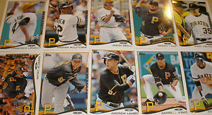 2014 PITTSBURGH PIRATES 40 Card Lot w/ TOPPS TEAM SET 25 CURRENT Players