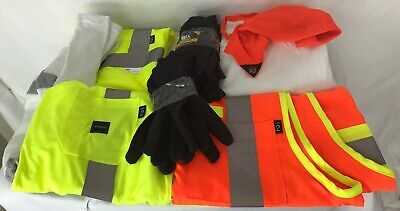 Walls Workwear Class 2 Tone High Visibility Construction Safety Vest Reflective