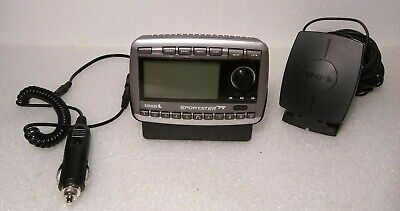 LIVE! Sirius Sportster SP-R2 Car Home Satellite Radio Receiver Tested Working