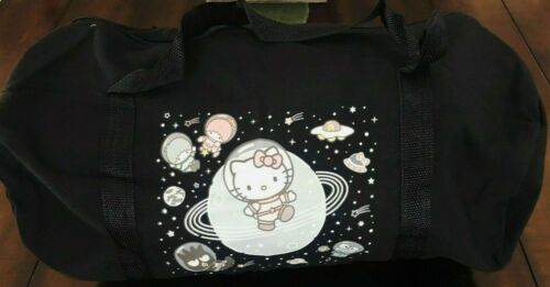 Sanrio Loot Crate Hello Kitty Exclusive Multi-Character Mini Canvas Duffle Bag