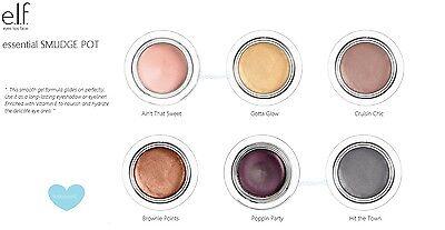 e.l.f. Essential Smudge Pot elf Eye Color Shadow w Vit E Pick ur (Elf Eye)