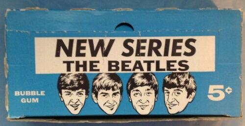 Beatles ORIGINAL 1964 TOPPS BUBBLE GUM CARDS 24 COUNT BOX! NEW SERIES B&W Rare
