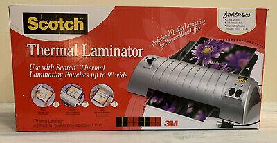SCOTCH Thermal Laminator Laminating Machine TL901 NEW IN BOX