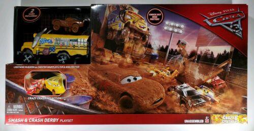 Disney/Pixar Cars 3 Demo Derby Smash and Crash Stunt Set
