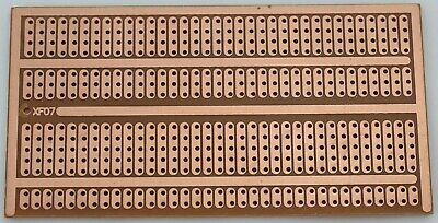 5x9.5 Cm Stripboard Prototype Grouped Pads Layout Fr-2 Bakelite Pcb Usa Ship