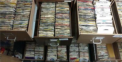 Pick ANY (10) 45 rpm JUKEBOX RECORDS for$19.99 60s 70s 80s 90s POP ROCK SOUL E-J