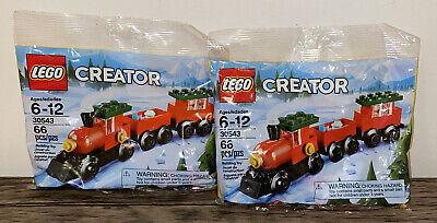 Lego #30543 Creator Holiday Christmas Train Holiday Mini Poly Bag Small Set 2018