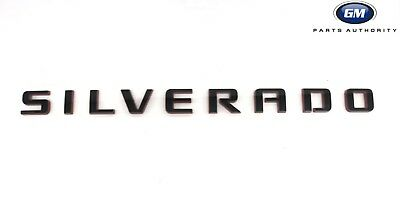 2014-2018 Chevrolet Silverado Redline Door or Tailgate Emblem 84306694 OEM GM