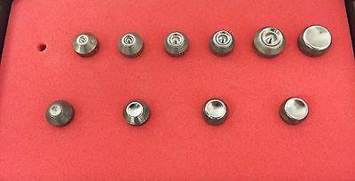 Rivet Squeezer Set Kit 10 Pcs Tubular An450 Squeezer Sets Woval Sets Case New