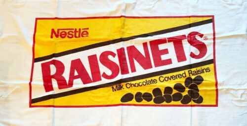 Raisinets Beach Towel Vintage 1990s New Old Stock Almost 3