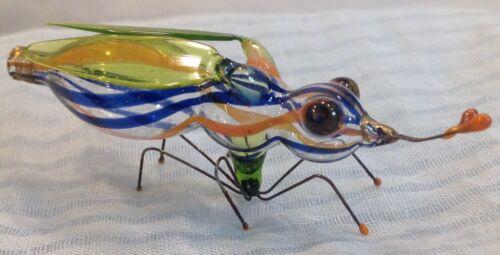 Antique German Blown Glass Bug Perfume Bottle