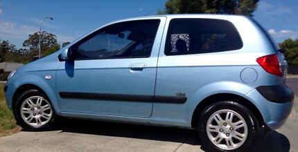 2008 Hyundai Getz 'Click' 2 door, Hatchback, Low Kms