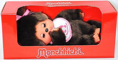 Monchhichi 233060 Sleep Eyes Girl (Mädchen mit Schlafaugen) ca. 20 cm