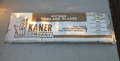 Portable Band Saw Blade 44-78 X 12 X .02 24 Tpi Kaner
