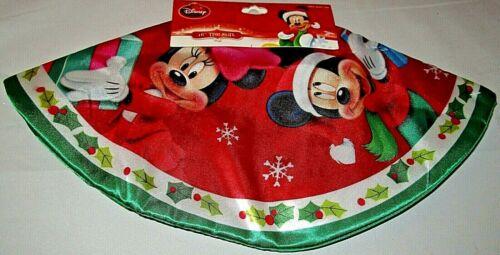 "DISNEY CHRISTMAS MICKEY MOUSE AND FRIENDS 16"" Diameter Mini Tree Skirt"