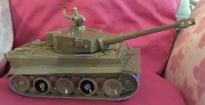 N. Africa Toy WW II Playset CTS & Airfix Troops, Tanks,SDK 222 AC, &, MPC Bunker