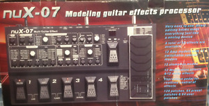 nuX-07 Modeling guitar effects processor